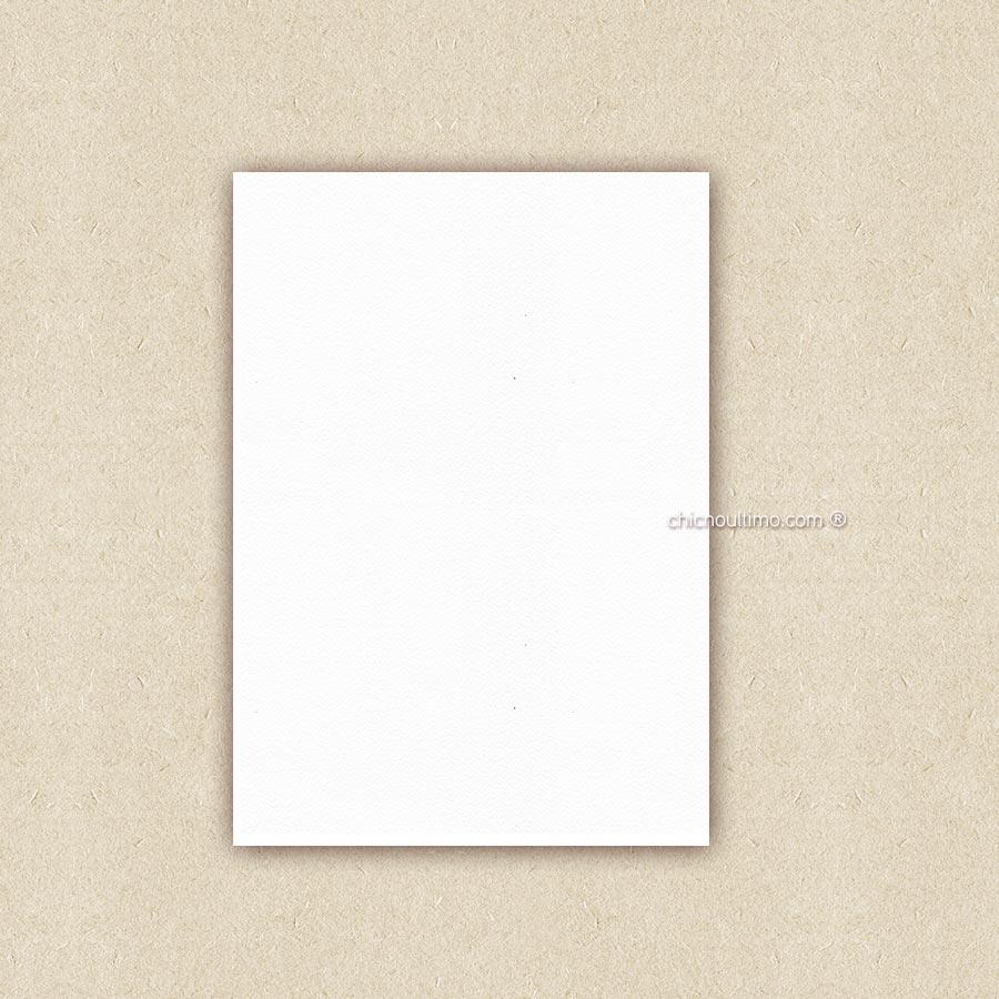 Papel para envelope tamanho P - sem impressão