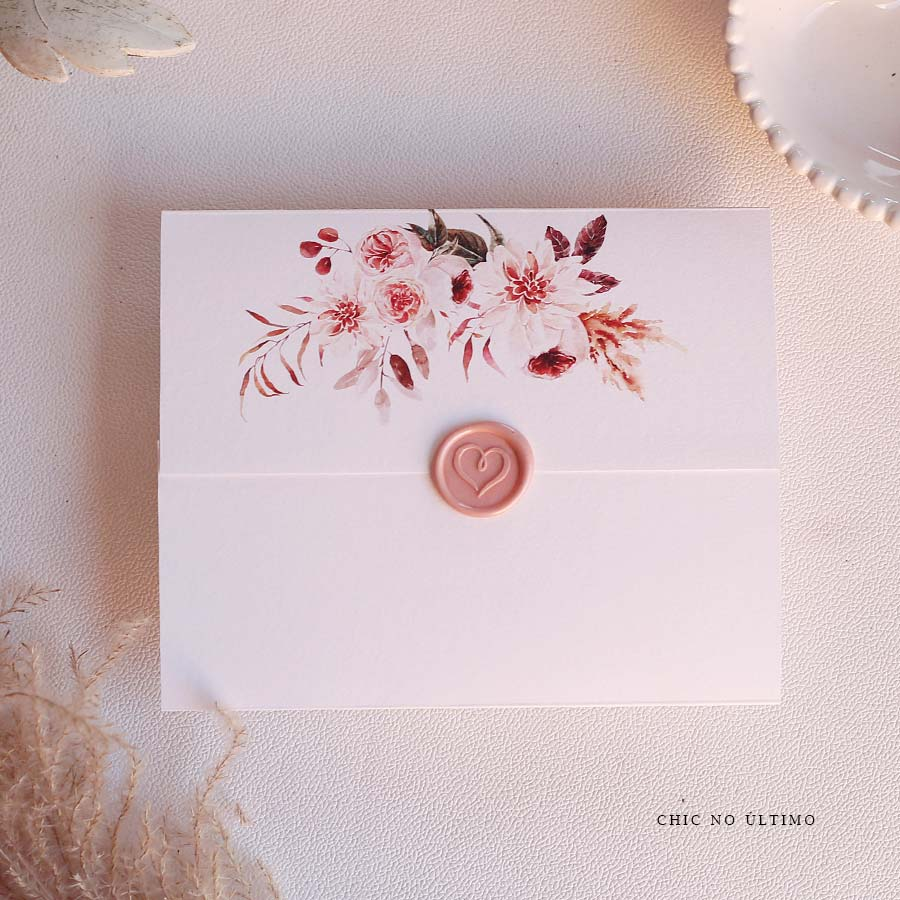 Porcelana Pocket   convite pronto
