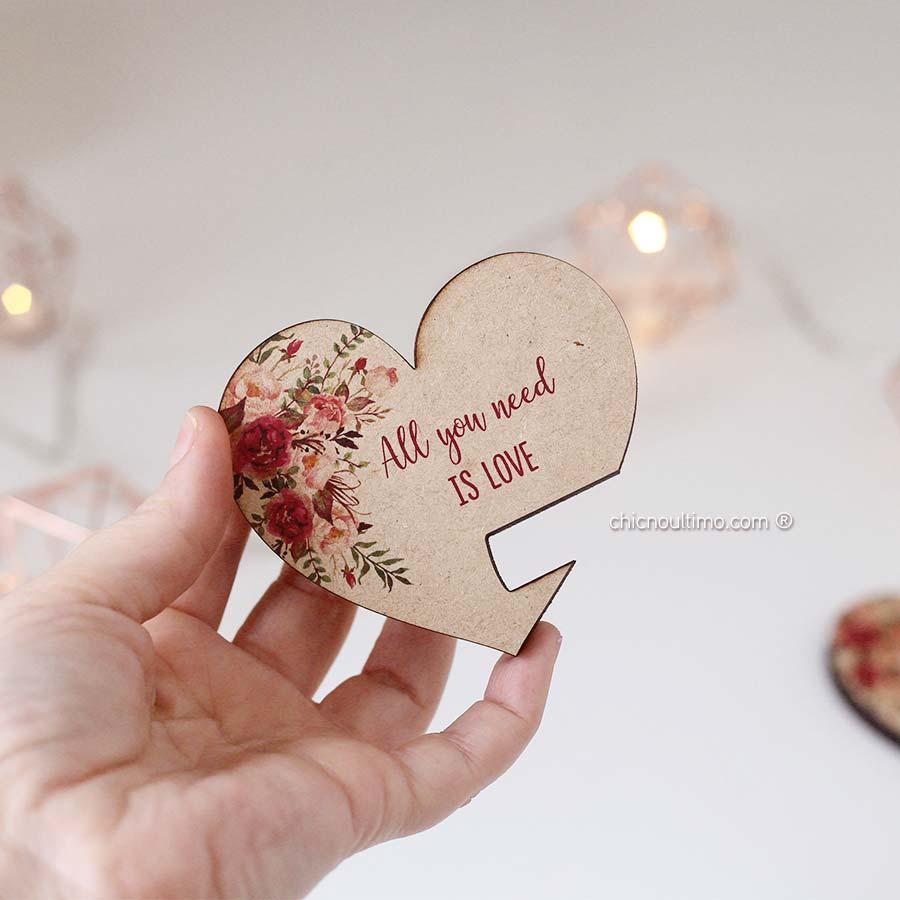Porta Celular - Coração Romance