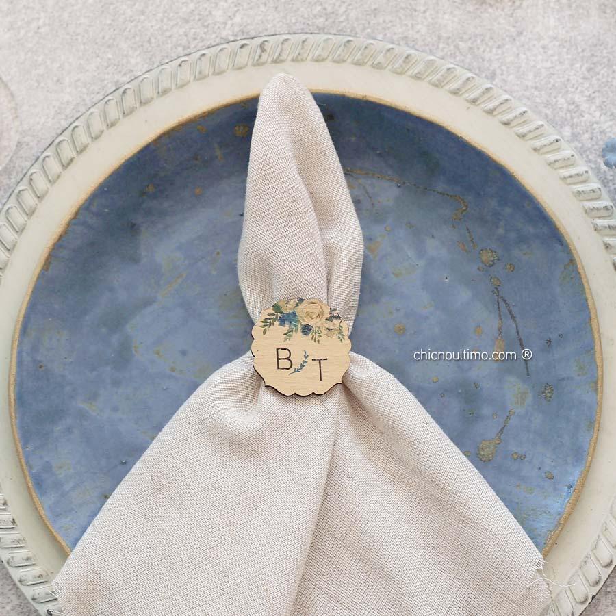 Porta guardanapo personalizado | Serenety