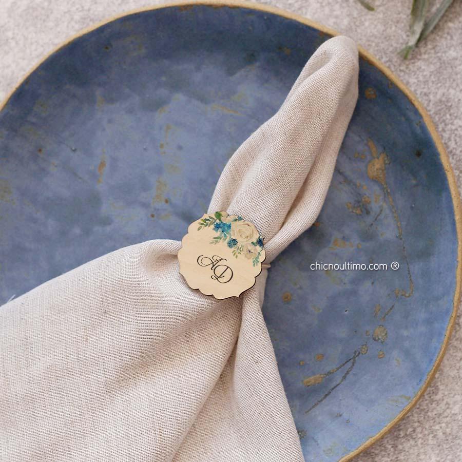 Porta guardanapo personalizado | Serenity