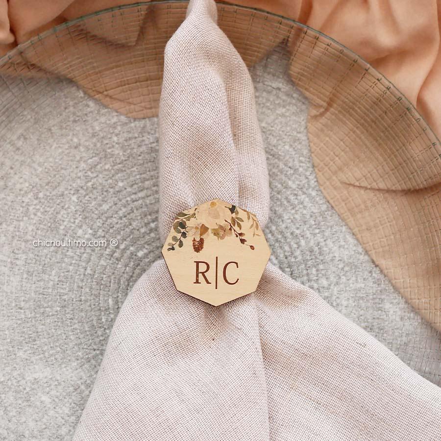 Porta guardanapo personalizado | Terracota