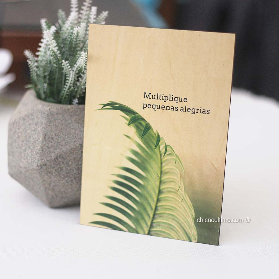 Quadro de Madeira - Multiplique