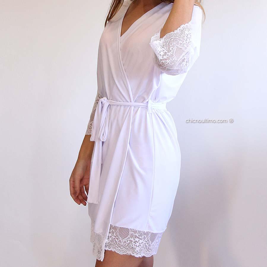Robe noiva branco com renda