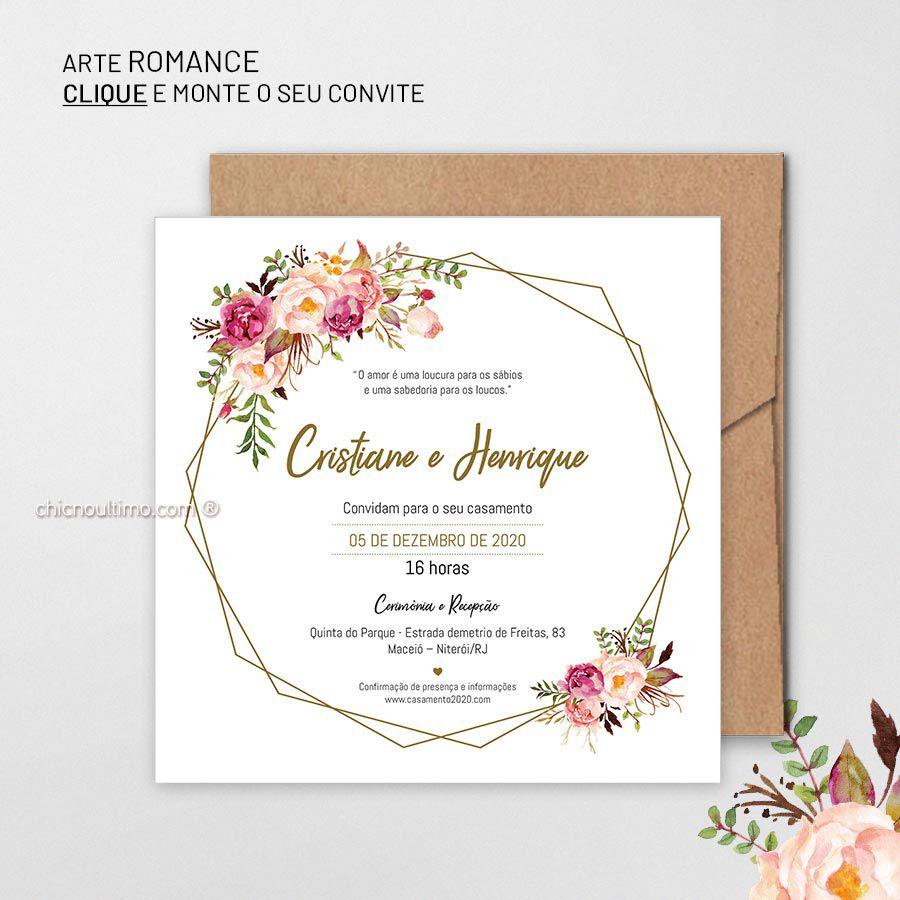 Romance - Convite Base