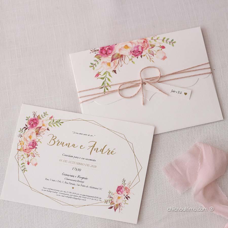 Romance Vintage - Convite Completo