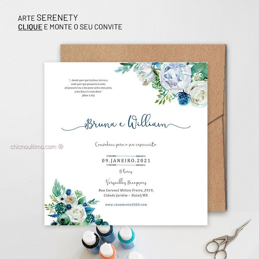 Serenety - Convite Base