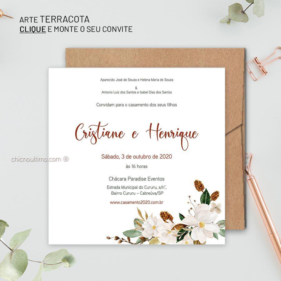 Terracota - Convite Base