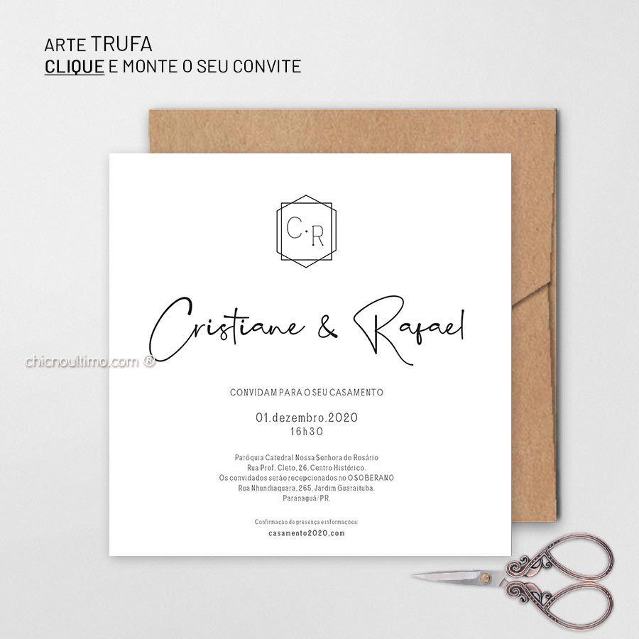 Trufa - Convite Base