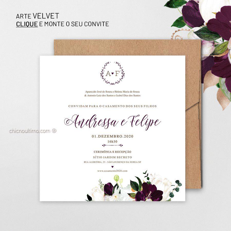 Velvet - Convite para montar