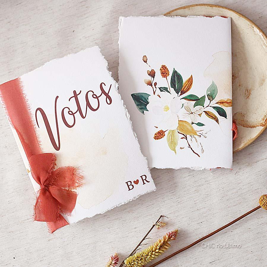Votos de Casamento - Terracota