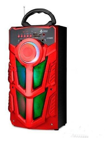 Caixa De Som Bluetooth 12watts Superbass Com Visor Sd Usb Fm
