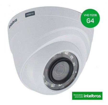Câmera Vhd 1120d 2,6mm G4 Multi Hd 720p - Intelbras