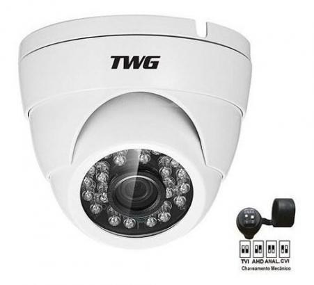 Câmera Dome Infravermelho 4x1 Ahd/cvi/tvi/analógico 1mp