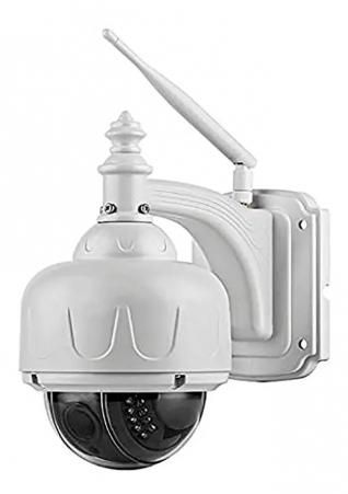 Câmera Speed Dome Ip Blindada Hd 720p Wifi Varifocal Sd 4x