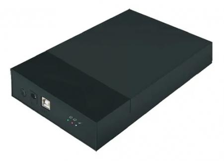 Gaveta Case Hd 3.5 Externa Usb 2.0 Preto Pc Notebook Mymax