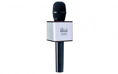 Microfone Karaokê Voice Oex Mk-100