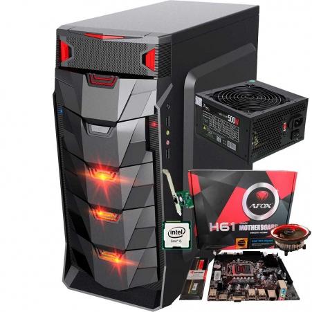 Pc Gamer I5 + Ram 4gb + Ssd 256gb + Fonte 500w + Gabinete Led Barato