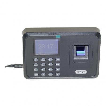 Relógio De Ponto Biométrico Impressão Digital Senha E Backup
