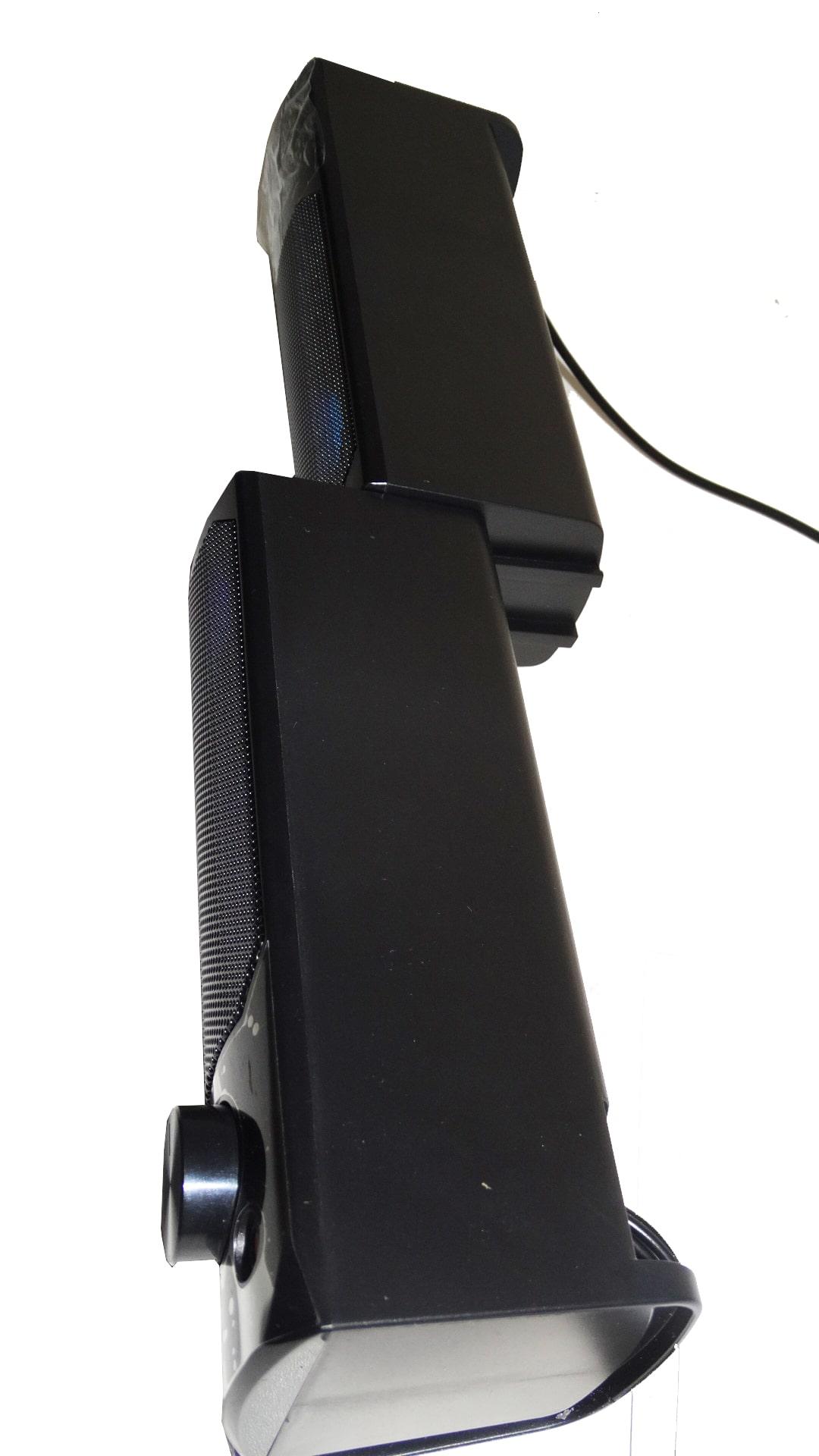 Caixa De Som Gamer Pc Note 12w Rms Usb P2 Iluminação Led Rgb