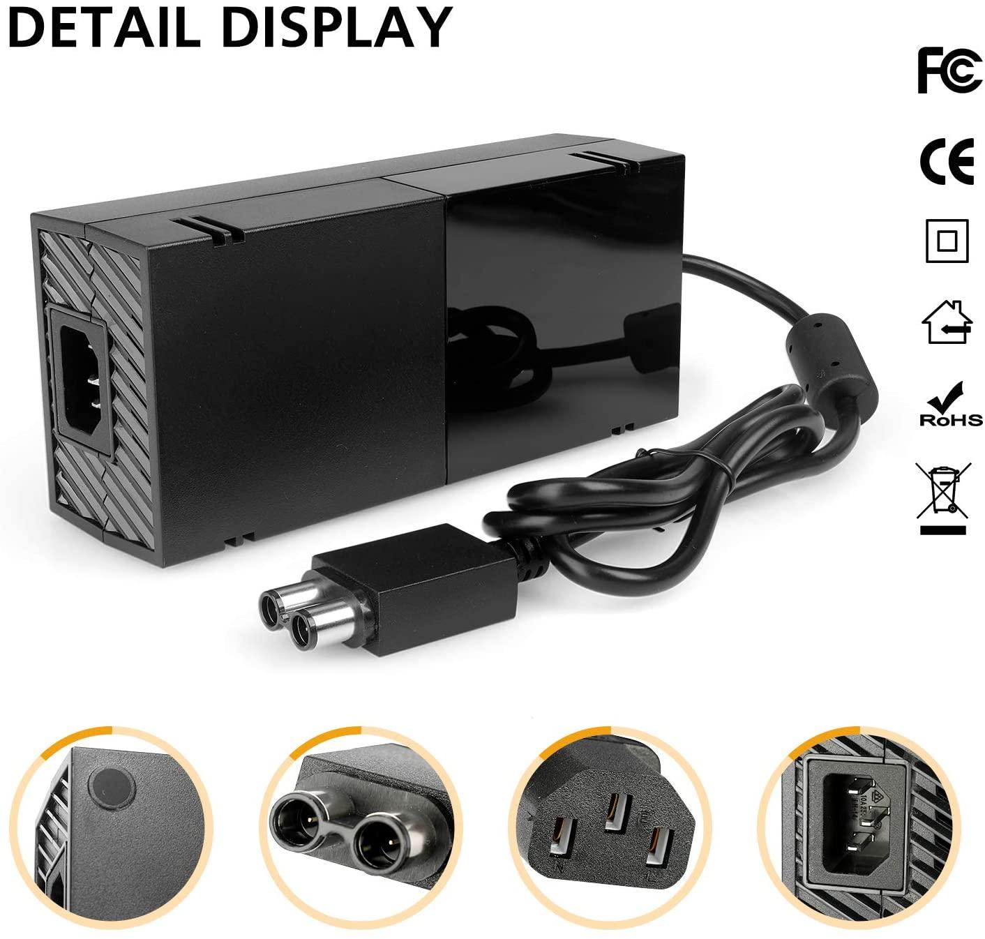Fonte Carregador Xbox One Bivolt 165w Potência Knup Kp-w014