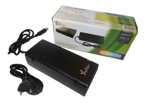 Fonte Xbox 360 Super Slim Bivolt Video Game Conector 1 Pino