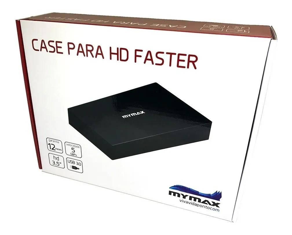 Gaveta Case Externa Para Hd 3,5 Pc Notebook Sata Usb 3.0