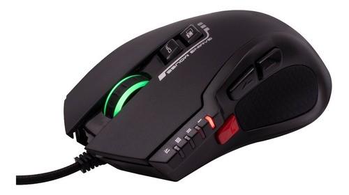Mouse Gamer Macro 4000dpi 8 Botões Led Rgb Weapon Ms317 Oex