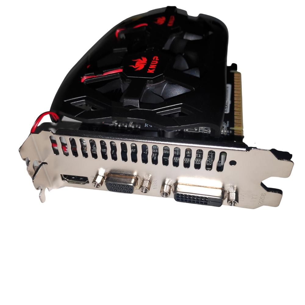 Placa De Vídeo Nvidia Geforce Gt 730 2gb Dual Fan 700 Series