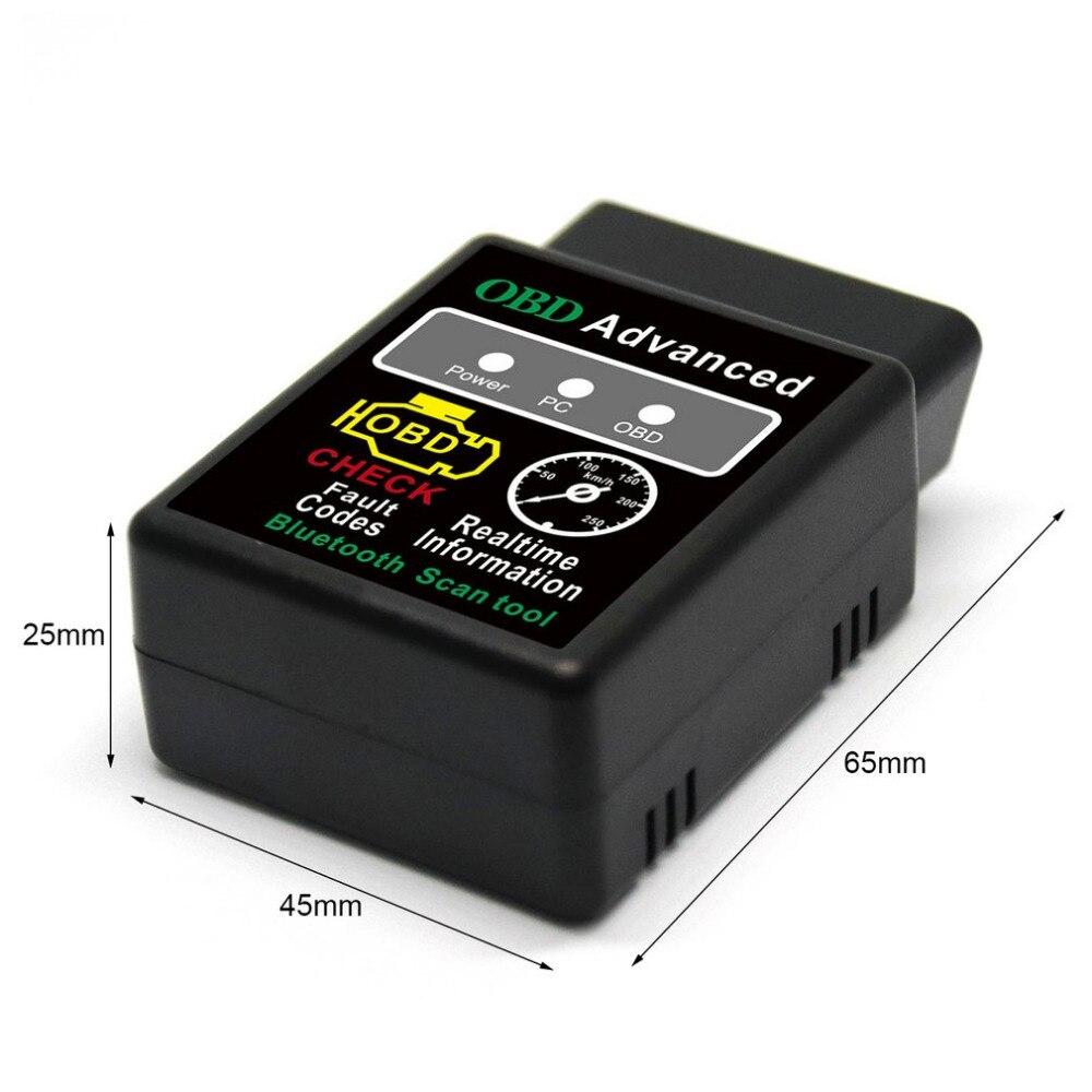 Scanner Automotivo Universal Obd Obd2 Bluetooth Obdii Elm327