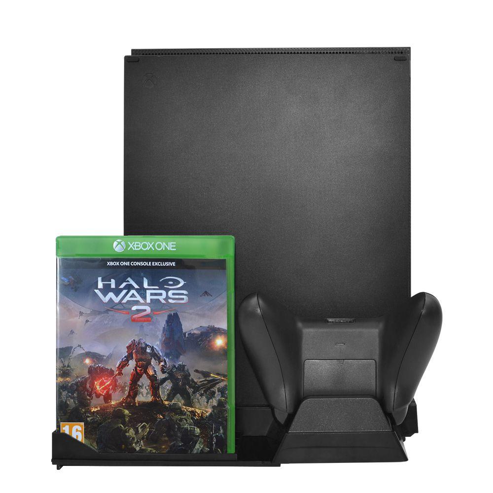 Suporte Base Vertical Xbox One Com Cooler E Base P Controle