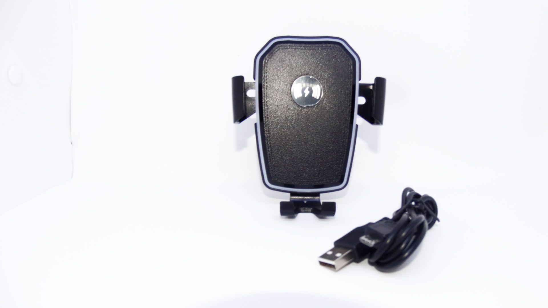Suporte Carregador De Celular Para Carro Indução Qi