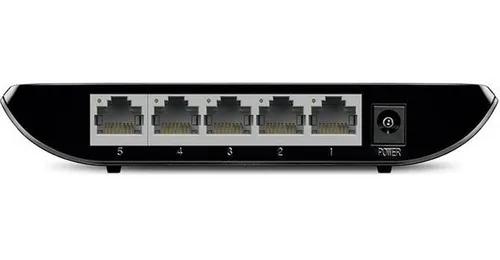 Switch 10/100/1000 Tp-link 5 Portas Tl-sg1005d Gigabit