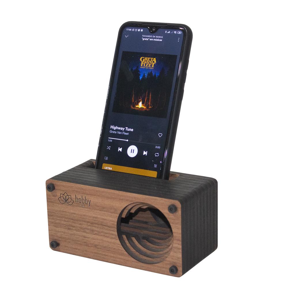 Caixa Amplificadora para celular