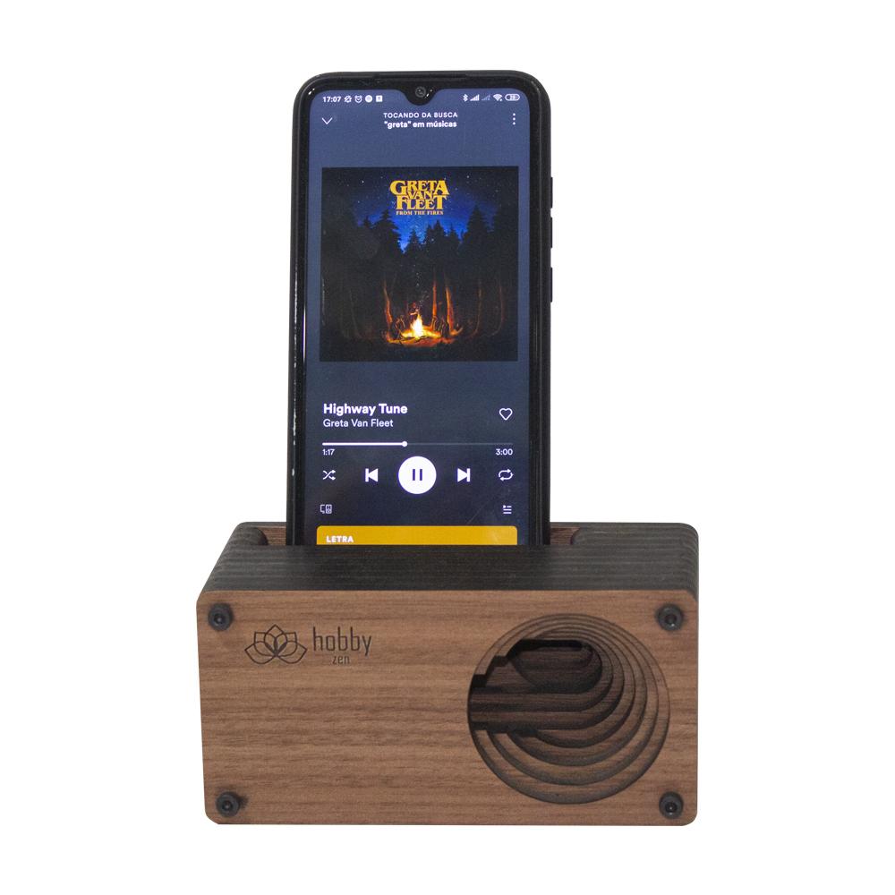 Caixa Amplificadora para celular - Estampas BH