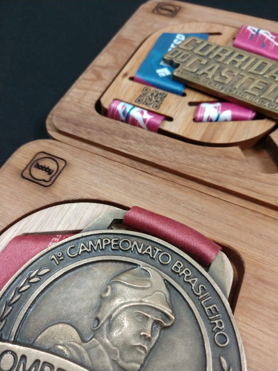 Porta Medalhas Hobby Medals - unitário