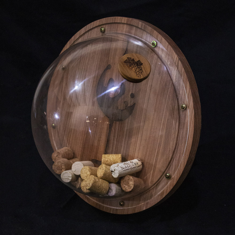 Porta Rolhas de Vinho Decorativo