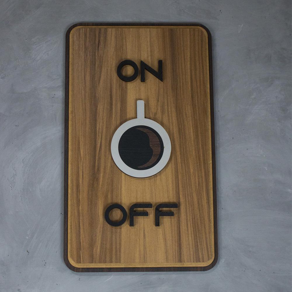 Quadro Coffee ON / OFF
