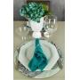 Guardanapo Oxford 40 x 40 Verde-Tiffany