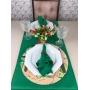 Trilho de mesa Verde bandeira