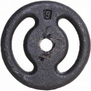 Anilha de Ferro Fundido Pintada 5kg