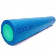 Rolo Pilates Yoga Massagem Liberação Miofascial Foam Roller 90x15cm