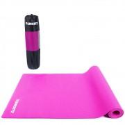 Tapete Yoga Mat Pilates PVC 5mm Com Bolsa