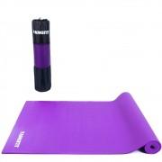 Tapete Yoga Mat Pilates Exercícios PVC 6mm Com Bolsa