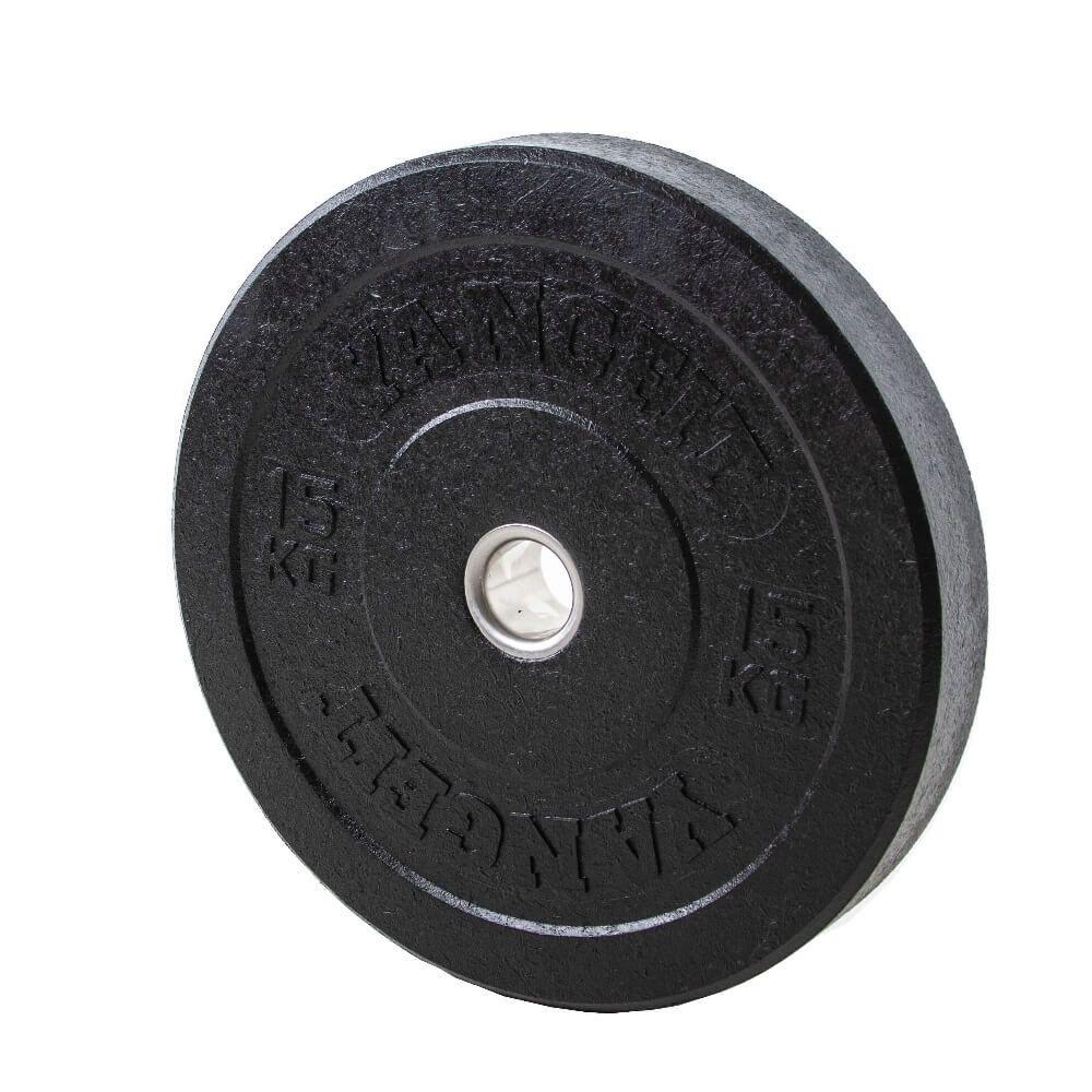 Anilha Olímpica Bumper Crumb Plate Hi Temp 15kg