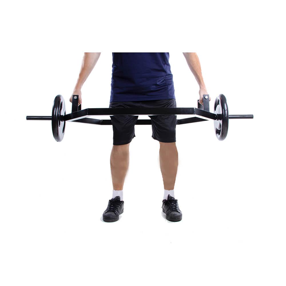 Barra Musculação Hexagonal para Levantamento de Peso