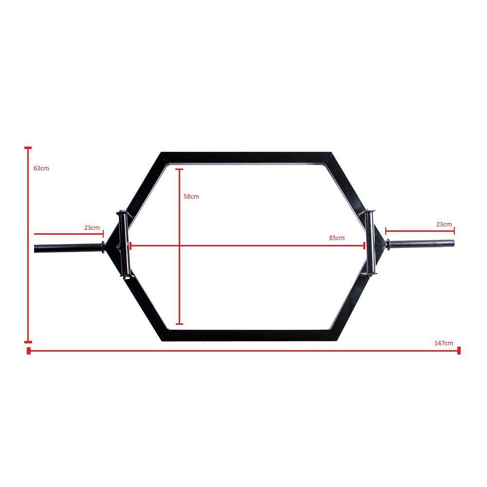 Barra Hexagonal para Levantamento de Peso