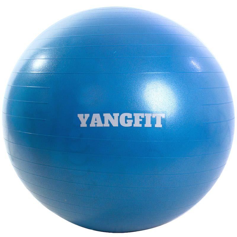 Bola de Pilates 55cm Com Bomba de Ar