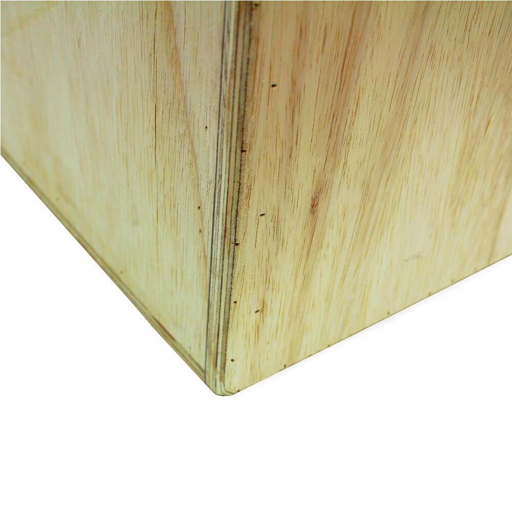 Caixa de Salto Jump Box 3 em 1 Madeira 50X60X75 cm