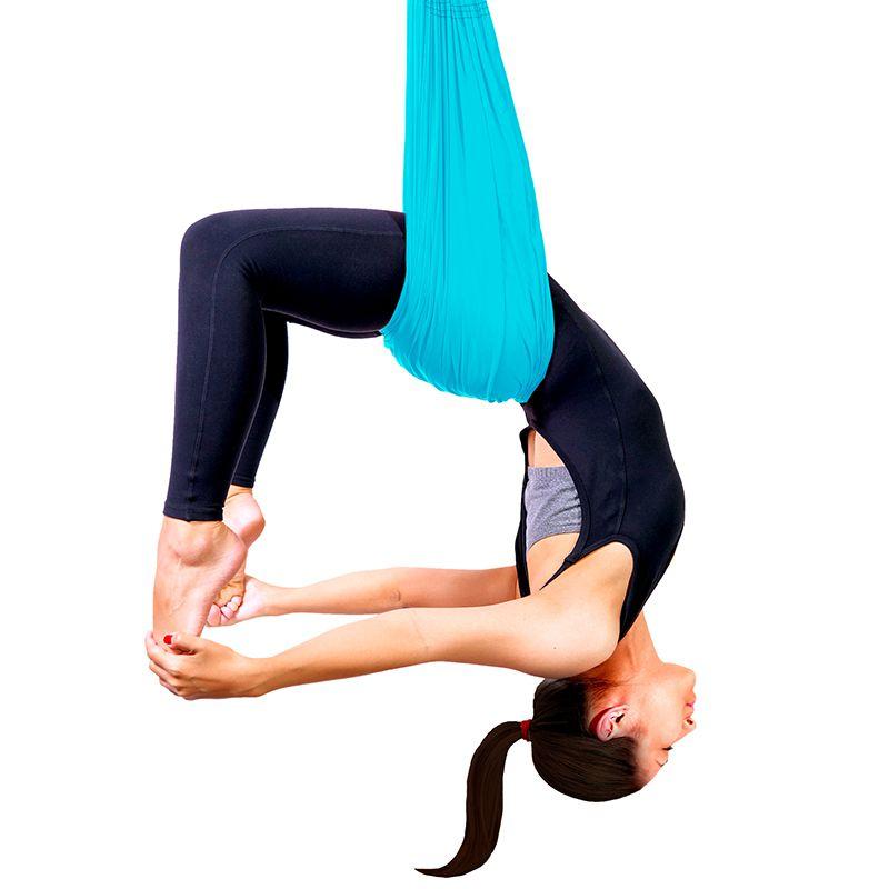 Columpio Aéreo Pilates Yoga com Fitas de Extensão